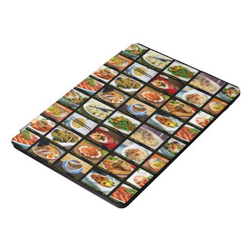 Chinese Takeout Restaurant Photo Menu Board iPad Pro Cover
