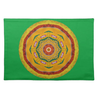 Chinese Tapestry Cloth Placemat