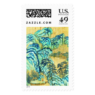 Chinese Teahouse 1730 Stamps