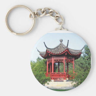 Chinese Teahouse Keychain