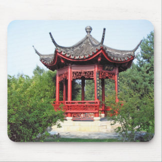 Chinese Teahouse Mouse Pads