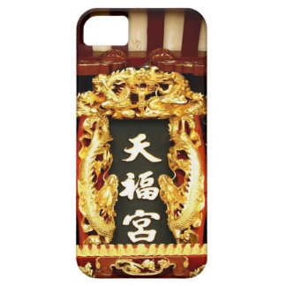 Chinese temple carving, Singapore iPhone 5 Case