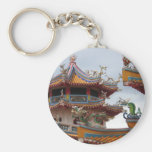 Chinese temple keychain