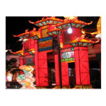 Chinese temple post cards