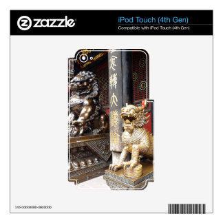 Chinese Temple Skins For iPod Touch 4G
