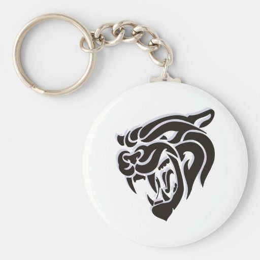 Chinese Tiger Gift Keychain
