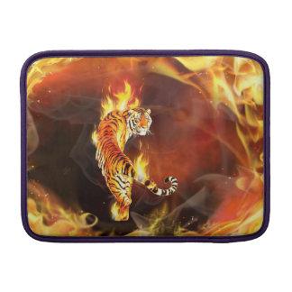 Chinese tiger painting MacBook air sleeve