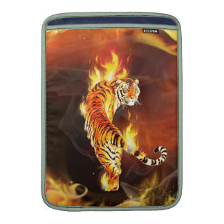 Chinese tiger painting sleeves for MacBook air