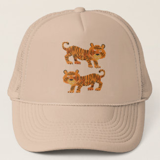 chinese tiger. trucker hat