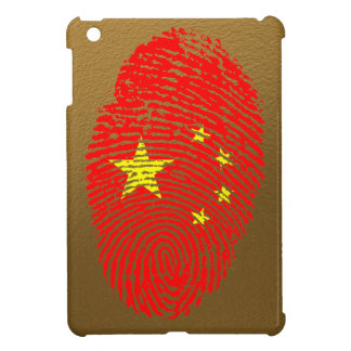 Chinese touch fingerprint flag iPad mini cases