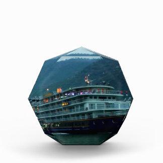 Chinese tourist boat in river Yangtz Award