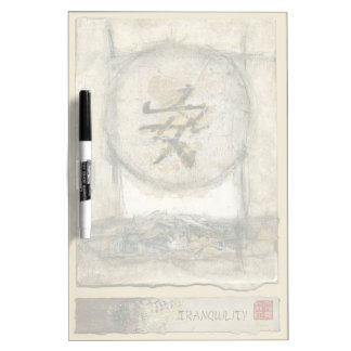 Chinese Tranquility Painting by Mauro Dry-Erase Board