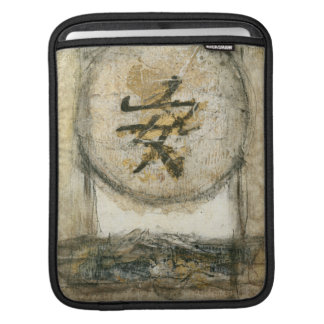 Chinese Tranquility Painting by Mauro iPad Sleeve