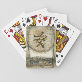 Chinese Tranquility Painting by Mauro Playing Cards