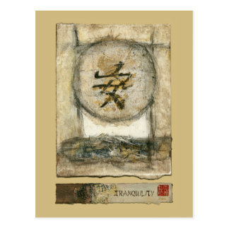 Chinese Tranquility Painting by Mauro Postcard