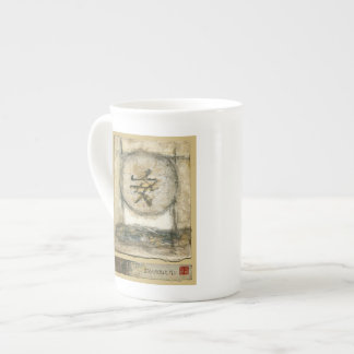 Chinese Tranquility Painting by Mauro Tea Cup