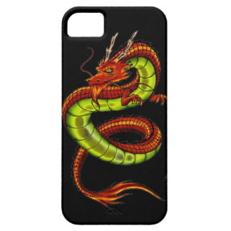 CHINESE VIBRANT DRAGON iPhone 5 COVER