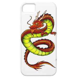 CHINESE VIBRANT DRAGON iPhone 5 COVERS