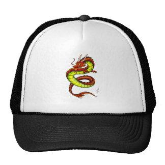 CHINESE VIBRANT DRAGON TRUCKER HAT