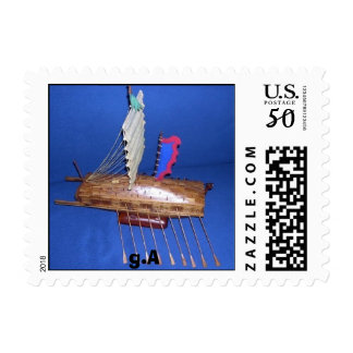 Chinese War Junk 12 Th.Century, g.A Postage