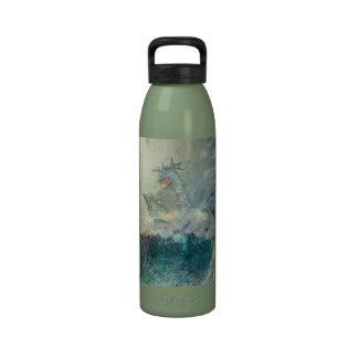 Chinese water dragon bottle water bottle