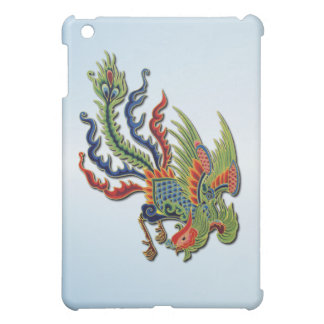 Chinese Wealthy Peacock Asian Tattoo iPad Mini Cover
