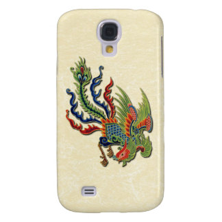 Chinese Wealthy Peacock Too Samsung Galaxy S4 Case