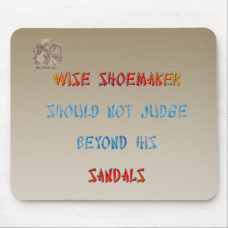 Chinese Wisdom Mouse Pad