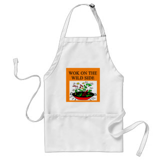chinese wok cooking apron