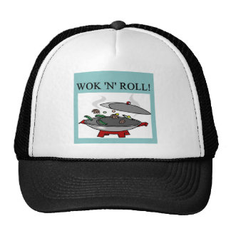 chinese wok cooking hat