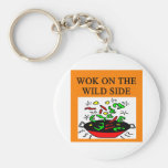 chinese wok cooking key chains