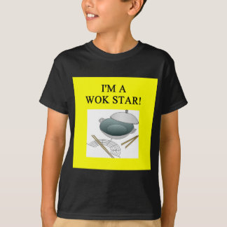 chinese wok cooking T-Shirt