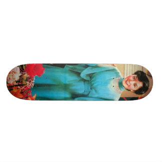Chinese Woman Skateboard