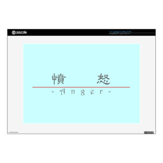 Chinese word for Anger 10037_2.pdf Laptop Skin