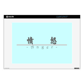 """Chinese word for Anger 10037_4.pdf Decals For 15"""" Laptops"""