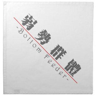 Chinese word for Bottom Feeder 10377_3.pdf Cloth Napkin
