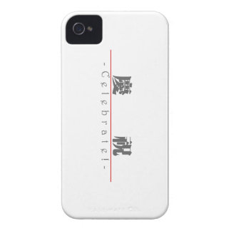 Chinese word for Celebrate! 10127_3.pdf iPhone 4 Case-Mate Cases