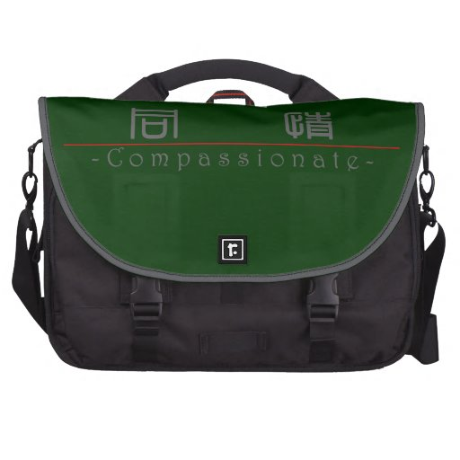 Chinese word for Compassionate 10115_0.pdf Computer Bag