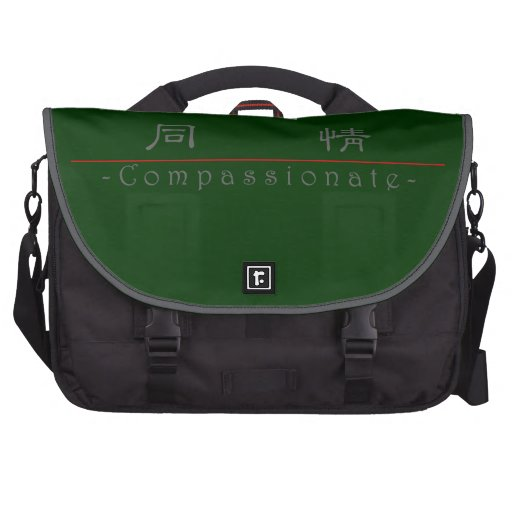 Chinese word for Compassionate 10115_2.pdf Laptop Messenger Bag