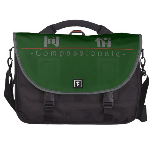 Chinese word for Compassionate 10115_3.pdf Computer Bag