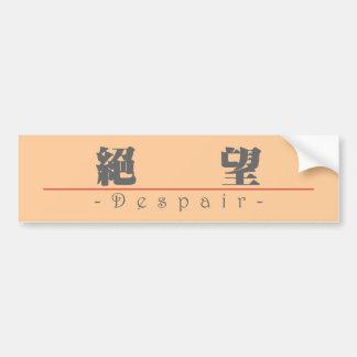 Chinese word for Despair 10023_3.pdf Bumper Sticker