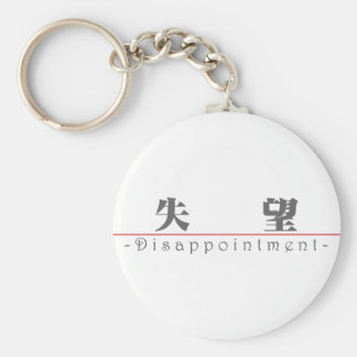 Chinese word for Disappointment 10020_3.pdf Key Chains