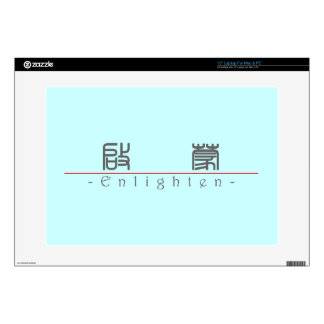 Chinese word for Enlighten 10330_0 pdf Decals For Laptops