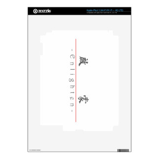 Chinese word for Enlighten 10330_5 pdf Skin For iPad 3