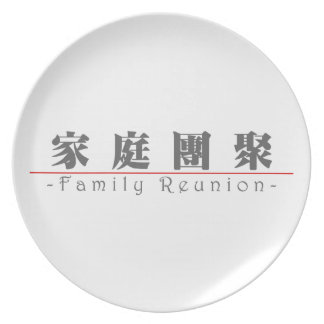 Chinese word for Family Reunion 10136_3 pdf Party Plates