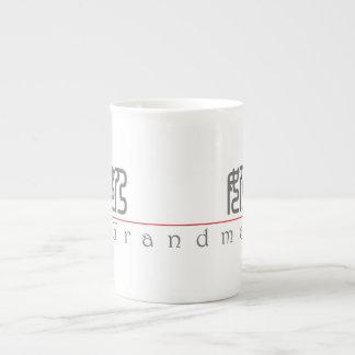 Chinese word for Grandma 10134_0.pdf Porcelain Mugs
