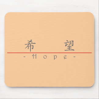 Chinese word for Hope 10019_1.pdf Mouse Pad