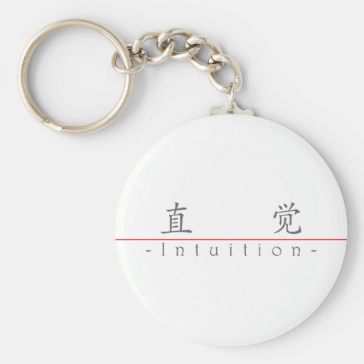 Chinese word for Intuition 10303_1.pdf Key Chains