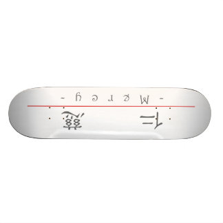 Chinese word for Mercy 10117_2.pdf Skateboard Decks