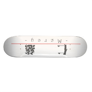 Chinese word for Mercy 10117_3.pdf Skate Deck